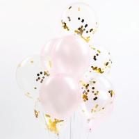 심플리 컨페티 풍선세트(10개입)-핑크