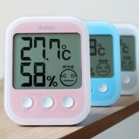 열사병 인플루엔자 위험도 표정으로 체크 디지털 온습도계 O-251