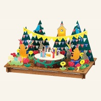 아토페이퍼 하코모쿠미타테가미-숲속의 생일파티