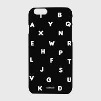 [어프어프] 하드/터프/슬라이드 Alphabet-black