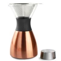 아소부 푸어오버 커피메이커 코퍼 (+분쇄원두 2팩)