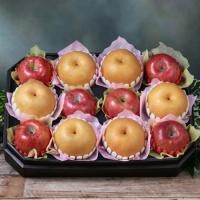 [과일농산]팔각 당도선별 사과 배 혼합세트 1호 6.2kg(사과6과+배6과)