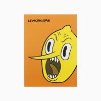 어드벤처 타임 얼굴 기본노트 - 레몬그랩