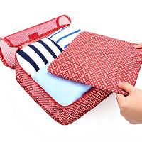 PATTERN CLOTHES POUCH size M 여행용 의류 파우치