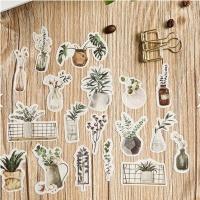 자연생활 플레이크 스티커 (4종)