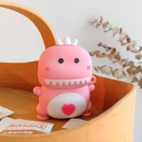 에어팟 1/2 공룡 캐릭터 입체 실리콘케이스 216 핑크