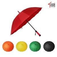 [토마톰스]비비드 멜빵커버 자동 장우산