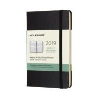 몰스킨 2019위클리(세로형)/블랙 하드 P