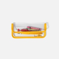 SWSW PENCIL CASE PVC Yellow