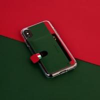 스매스 아이폰XS/X 가죽 포켓 바 카드 케이스 이지포켓H