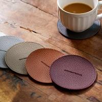 청정일기 미끄럼방지 가죽 컵받침대 5개 골라담기