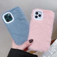 아이폰 11 pro max xr 니트 털 컬러 퍼 젤리케이스