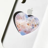 밍키트 벚꽃 하트 밍톡 그립톡