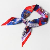 Silk Toss Petit Tie Scarf