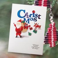크리스마스카드/성탄절/트리/산타 산타 크리스마스카드 FS1024-2