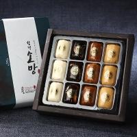 [수라원]합격소망 합격엿 수능선물세트 1호 [12구]