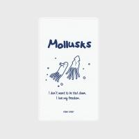 [어프어프] 보조배터리 Mollusks-white