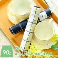 wpc우산 초경량 90g 플라워 체크 미니 3단우산 AL-019