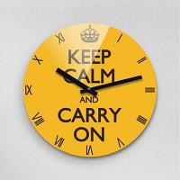 Reflex KEEP CALM FREESIA 무소음벽시계(대) KCR280-FYE