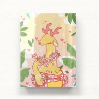 에센스다 벚꽃사슴 대형 아크릴액자  by 펜낙(279690)