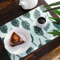 [원더스토어] 방수 TPU 테이블 식탁 매트 나뭇잎