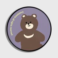 Board bear-purple(스마트톡)