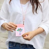 위드앨리스 넥 카드 케이스 Yogurt