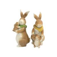 다정한 가족 토끼 2종