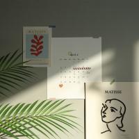 2020 앙리마티스 감성 포스터 캘린더 2020벽걸이달력