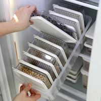 [StoryG] 냉장고정리 고급형B (트레이(대1개) + 소분용기(대1호9p)