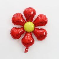 은박 꽃풍선 50cm (레드)