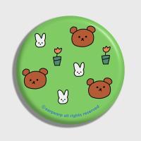 Bear and rabbit-green(거울)