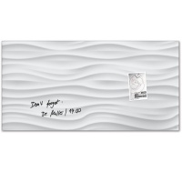 [Sigel] 91x46cm...특수 안전 유리의 인테리어 디자인보드-독일 지겔 마그네틱 글라스보드 GL260