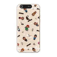iPhone6/iPhone6+ LINE FRIENDS BROWN PATTERN-S Light UP Case