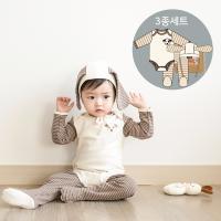 [CONY]오가닉 강아지3종세트(18년개띠맞이출산선물)