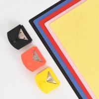 [현대오피스] 코너라운더 3종 블랙,핑크,노랑