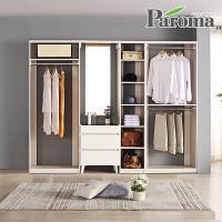 파로마 라라 드레스룸 일자형 4칸B형 (2600x400)