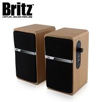브리츠 스피커 Z2100 PINACLE2 (2채널 / 마이크 & 헤드폰 입력단자 / 63.5mm 스피커 유닛 / 우든 인크로저 USB전원)