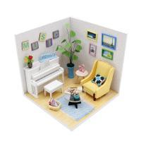 [adico]DIY 미니어처 하우스 - 뮤직룸