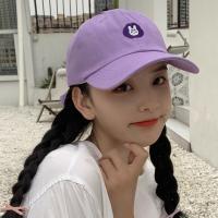 요드리 여성 캐릭터 얼굴소멸 무지 볼캡 야구모자