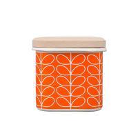 [올라카일리] 에나멜 법랑 저장 보관용기 오렌지