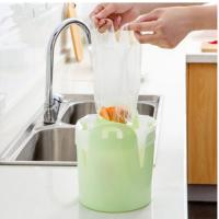 (와인앤쿡)비닐봉지 정리 쓰레기통1개(랜덤)