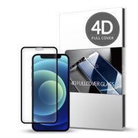 스킨즈 아이폰12미니 4D 풀커버 강화유리 필름 1매