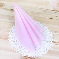 파티용 칼라 냅킨-핑크(20매)