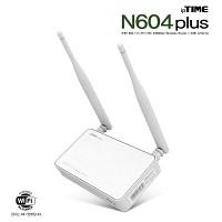 [EFM Network] ipTIME N604 PLUS (2Tx-2Rx 300Mbps/5dbi 2안테나/11n 유무선공유기)