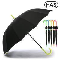 [헤즈] 12살 네온컬러 자동 장우산 HS1A1260(NEON-YLW)
