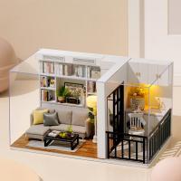 DIY 미니어처 하우스 - 모던 화이트