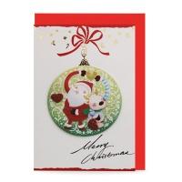 크리스마스카드/성탄절/트리/산타 사랑해 (FS110-1)
