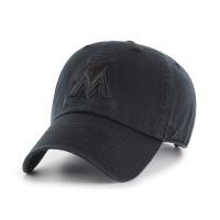 MLB모자 마이애미 올블랙