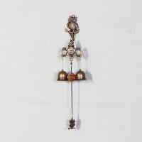 엔틱메탈 나무에 앉은 부엉이 2벨 문종 도어벨